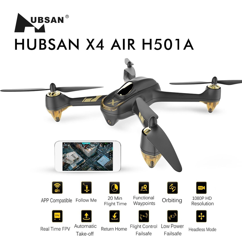 Recensione e opinioni Hubsan X4 Air Pro