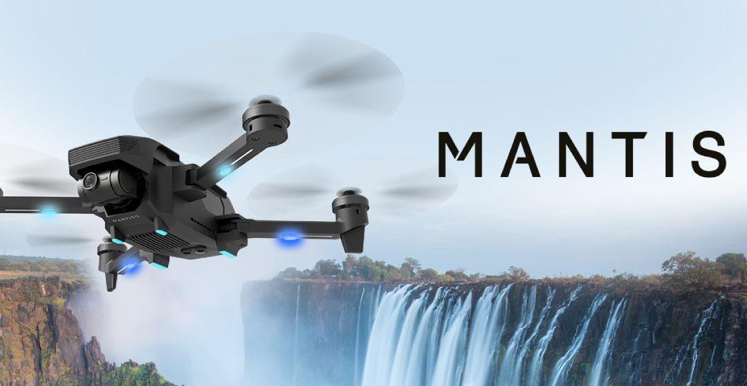 YUNEEC Mantis G: il nuovo drone pieghevole che prova a sfidare DJI